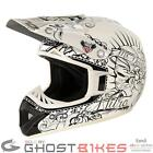 NITRO CALAVERA OFF ROAD MX ACU GOLD ENDURO RACING MOTOCROSS ATV CRASH HELMET