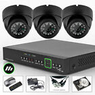 3 x Sony Chip 700TVL Alarm Port Cam 4 Ch DVR CCTV System 2TB HDD Wireless H.264