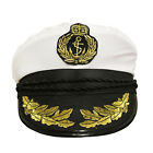 CAPTAIN HAT SAILOR CAP NAVY MARINE FANCY DRESS COSTUME ACCESSORY HEN STAG NIGHT