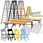 "WWE Wrestling Figure Accessories: 10"" Ultimate Tables, Ladders & Chairs Playset"