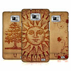 HEAD CASE DESIGNS WOOD ART CASE COVER FOR SAMSUNG GALAXY S2 II I9100