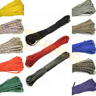 550 Paracord 7 Strand100ft Parachute Lanyard Survival Rope Mil Spec TYPE III