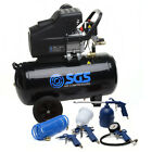 50 Litre Air Compressor & Tool Kit - 9.6 CFM, 2.5 HP