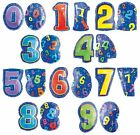 """18"""" Colorful Junior Number Balloons Happy Birthday Graduation New Year Reunion"""