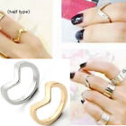 Fashion Finger Rings Urban Stack Plain Above Knuckle Ring Band Midi Rings Punk