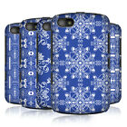 HEAD CASE DESIGNS DAZZLING BLUE PATTERN HARD BACK CASE COVER FOR BLACKBERRY 9720