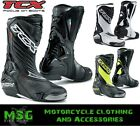 TCX S-R1 MOTORCYCLE RACE SPORTS CE APPROVED BOOTS REBOOT SALE OFFER RRP- £219.99