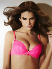 Ann Summers Womens Pure Lace Neon Padded Plunge Bra Sexy Underwear Lingerie New