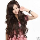 2013 Hot Fashion Long Curly Wavy Women's Wig Full Wig+Wig Cap 3 Colors