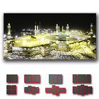 ' Kaaba Mecca Mosque Saudi Arabia ' Modern Islamic Religion Wall Art Deco Canvas