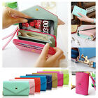 Crown Wristlet Leather Wallet Case Purse  For LG Optimus L9 P769 / L9 2 II D605