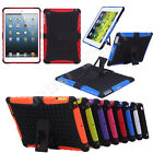 Shockproof Heavy Duty Armor Hybrid Protector Case Cover For iPad Mini 1/2 Retina