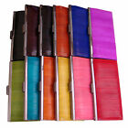 Genuine Eel Skin Leather Standard Wallet Frame Purse Clutch Wallet