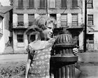 1942 HARPERS FERRY W. VIRGINIA SMALL GIRL STREET DEPRESSION  PHOTO