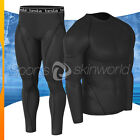 New Mens Compression Under Base Layer Armour Wear Core Shirt Pant ERTR01P06BB