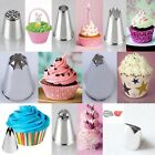 8 PERFECT SHAPES ICING PIPING CAKE CUPCAKE DECORATING NOZZLES SUGARCRAFT CUP