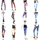 Fashion Multi Color Galaxy Women Sexy High Waisted Stretchy Leggings Pant