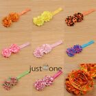 Lovely Cute Flowers Baby Toddlers Girls Elastic Hairband Headband Hair Decor NEW