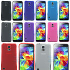 Hybird TPU Silicone Gel Skin Case Cover Simple Plain Gloss For Samsung Galaxy S5