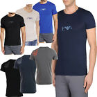 Mens Emporio Armani Underwear T-Shirts Stretch Cotton - Men Armani Slim Fit Tops