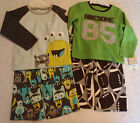 CARTERS Boys Size 4 Choice Polyester Fleece Pajama Set NWT Sleepwear
