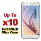 Ultra Clear LCD Screen Protector Film Guard for Samsung Galaxy S3 S4 S5 Note 3 4