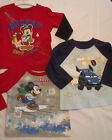 DISNEY Baby Mickey Size 4T 18 or 24 Month Choice Long Sleeve Shirt NWT