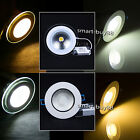 New 5W 10W 15W COB LED Recessed Ceiling Panel Down Lights Lamps Home Decorating