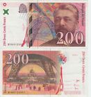 France 200 Francs Banknote 1997 Extra Fine Condition Cat#159-B-4891