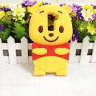 3D Winnie Pooh Soft Silicone Back Cover Case For LG G2