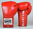 ORIGINAL DEPORTES CASANOVA PRO BOXING GLOVES - FULL LEATHER w/ ATTACHED THUMBS