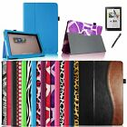For Barnes & Noble Nook HD+ 9 inch Leather Smart Wake/Sleep Case Cover+ Film+Pen