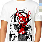 TRUE DETECTIVE T-Shirt. Cult Detective TV Show, Stag Head Marty Hart Rust Cohle