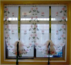 New Beauty Pastoral Print Lifting Curtain Sector Style Cute Home Kitchen Curtain