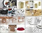 Table Decoration Package - Place cards, Bubbles, Confetti, Guest Book, Post Box