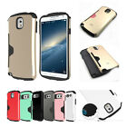 Shock Proof armor hybrid urethane Bumper case cover For Galaxy S4/S5/Note 2 3