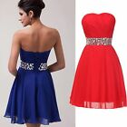 2015 Short Mini Prom Bridesmaid Dress Evening Party Homecoming Dresses Ball Gown