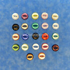 100 x Fisheye Baby Buttons - Size 22 - 13mm - Various Colours Available