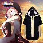 Unisex Heat Haze Project Kagerou Project Kano Hoodie Cosplay Costume Coat Jacket