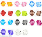 300 Faceted Bicone Acrylic Spacer Beads 8x8mm M0141