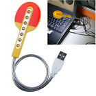 Cute Portable Flexible USB PC LED Light Keyboard Notebook Laptop Reading Lamp