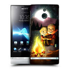 HEAD CASE DESIGNS AGLOW WITH LOVE HARD BACK CASE COVER FOR SONY XPERIA P LT22i