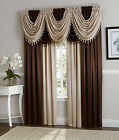 Hyatt Window Curtain Draperies & Valances By GoodGram¨ - Assorted Colors