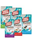 Simple Solution Disposable Diaper EVERY SIZE 12 Pack Nappies Nappy