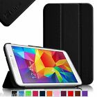 """For Samsung Galaxy Tab 4 8.0 8"""" Inch SM-T330 Leather Smart Cover Case Ultra Slim"""