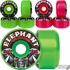 "ELEPHANT BRAND ""Logo"" Skateboard Wheels 58mm 103a Pool Park Green Pink Vallely"