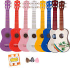 Kalos by Cecilio Ukulele +Gigbag Blue Pink Purple Red White Yellow Natural Hawai