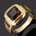 Size 8,9,10,11,12 Jewelry AAA Tanzanite Men's 10KT Gold Filled Ring Wedding Gift