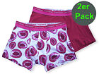 bruno banani herren unterhose boxer short pant FRUIT MIX bordeaux kiwi 2 Pack
