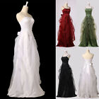 Gorgeous Formal Pageant Evening Gowns Wedding Bridesmaid Long Maxi Prom Dresses